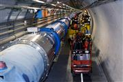 Lowering the rescue equipment into the LHC tunnel and navigating through it in record time posed numerous challenges for the French, Swiss and CERN firemen.