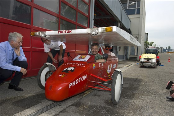 Photon - the CERN solar club's solar-powered car