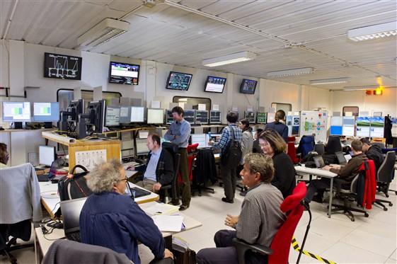 LHCb control room
