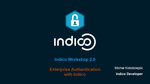 Indico Workshop 2.0