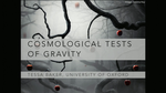 Cosmological Tests of Gravity