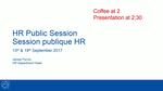 HR Public Session - English presentation