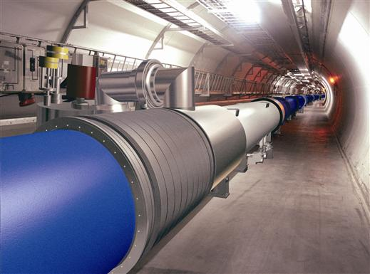 Large Hadron Collider,LHC,Computer Generated,Tunnel