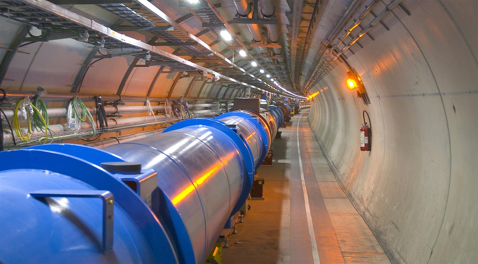 First LHC magnets installed