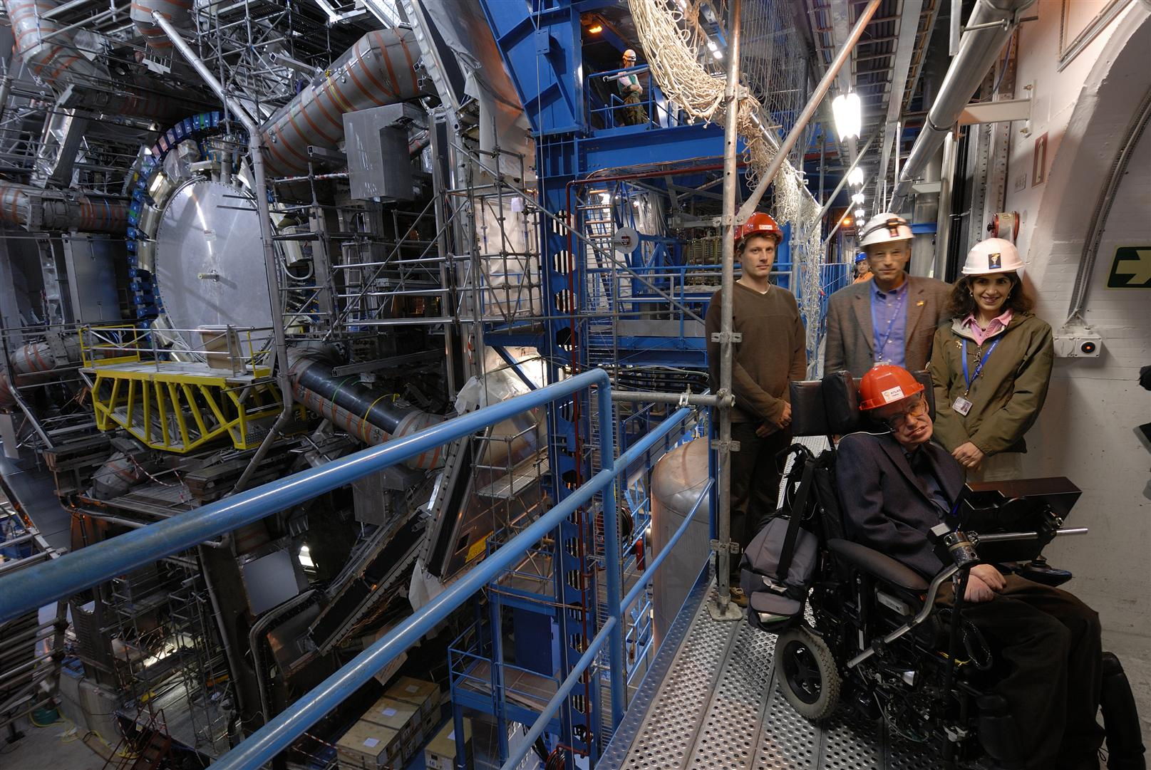 Stephen Hawking at CERN in 2006