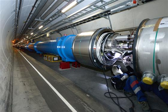 LHC,Magnet,Interconnection,Tunnel