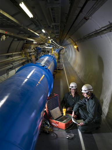 LHC,Magnet,Cryogenic,Tunnel