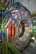 Foto von einem Teil des LHC