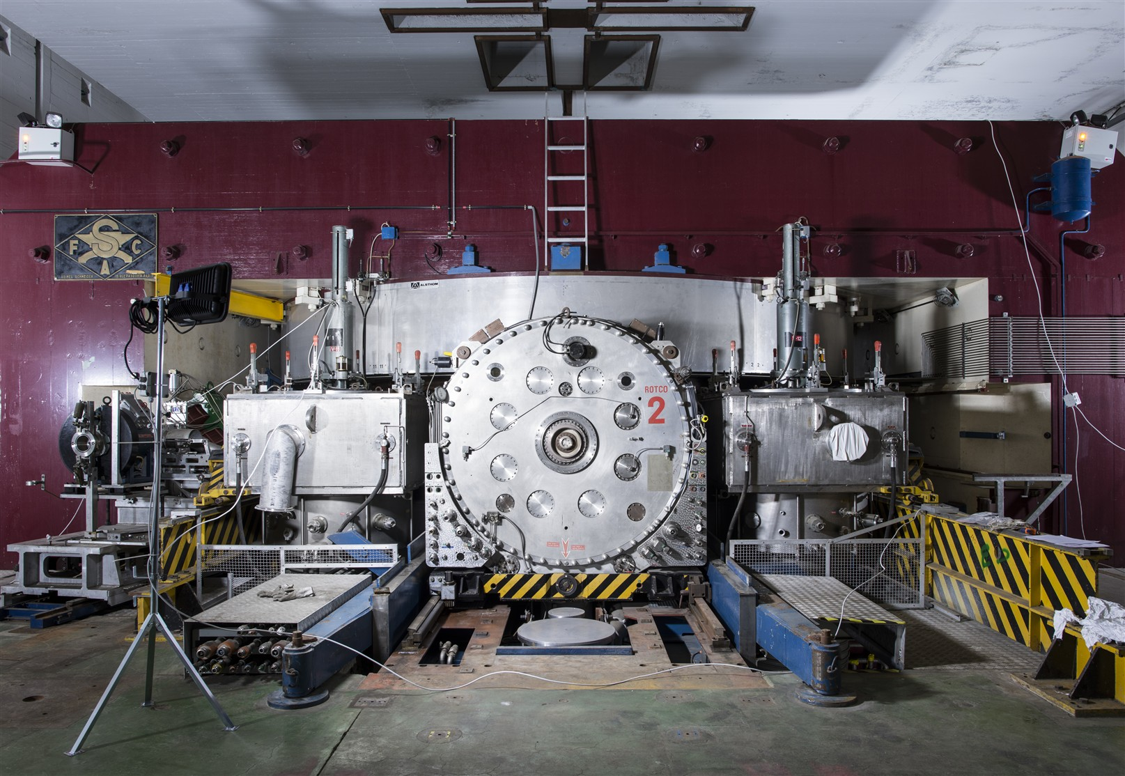 The Synchrocyclotron (SC) in building 300