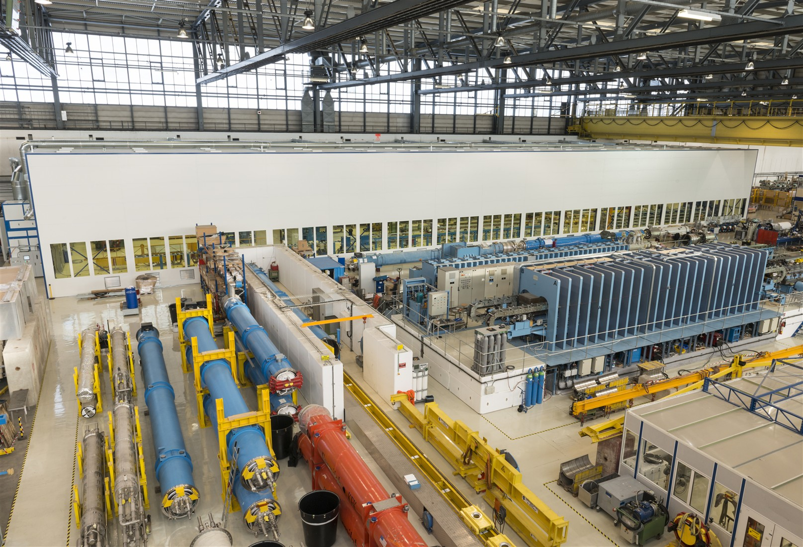 A view of the Large Magnet Facility in Building 180