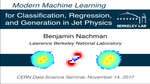 Advanced Machine Learning for Classification, Regression, and Generation in Jet Physics
