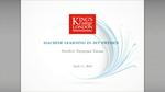 2nd IML Machine Learning Workshop