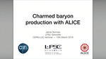 Charm baryon production in pp and p-Pb collisions with ALICE