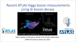 Recent ATLAS Higgs measurements using di-boson decays