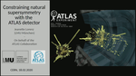 Constraining natural supersymmetry with the ATLAS detector